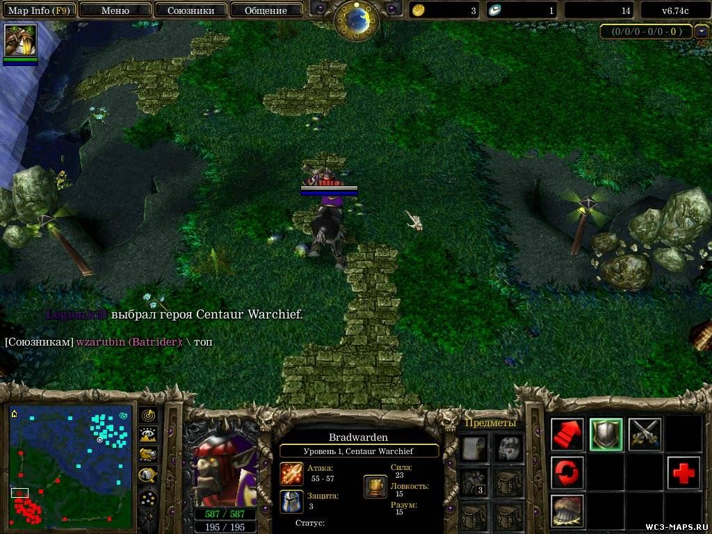 Warcraft 3 124e maphack download