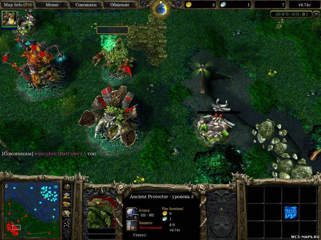 Warcraft 3 The Frozen Throne Прохождение