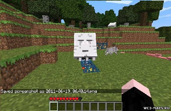 Minecraft как сделать моб спавнер