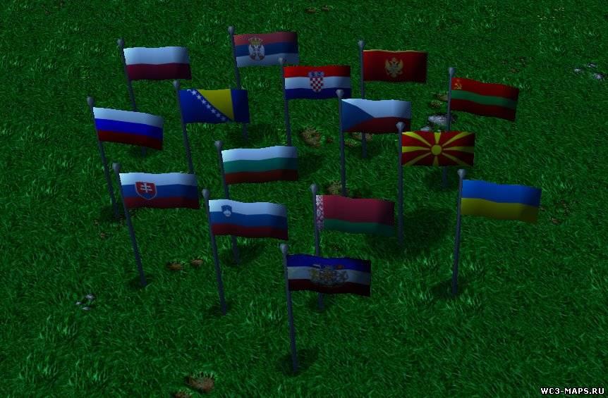 славянский флаг