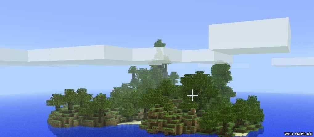 скачать карту летающие острова для майнкрафт 1.7.10 #2