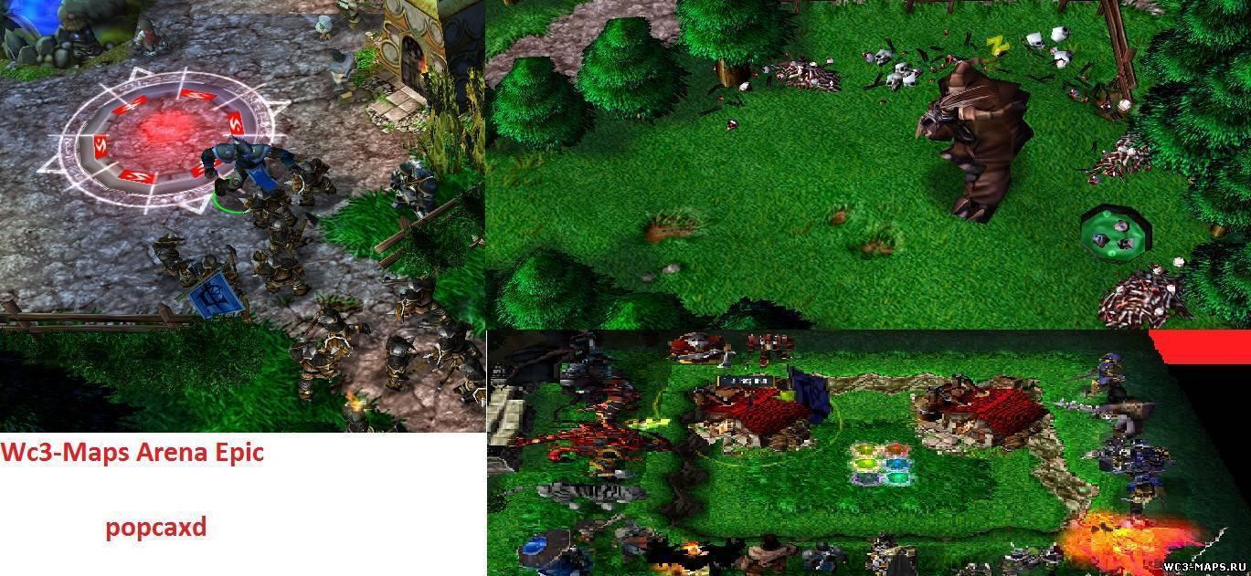Скачать Карты на Прохождения для Warcraft