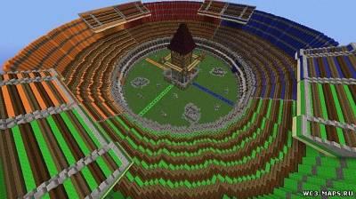 Скачать карту на майнкрафт на арену