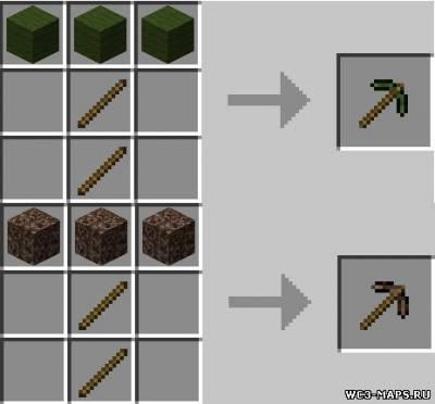 Как сделать деревянную кирку