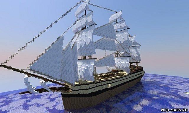 Как сделать красивый корабль