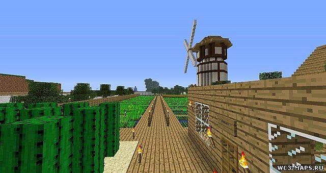 скачать карту для майнкрафт ферма - фото 5