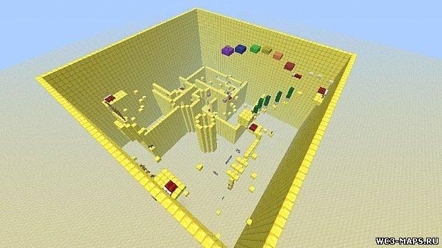 Скачать Карта Паркур для Minecraft 1.7.2
