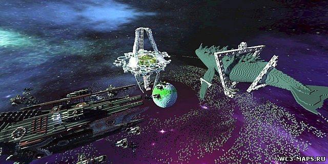 Карта Космическая станция для Майнкрафт 1.7.10 - скачать