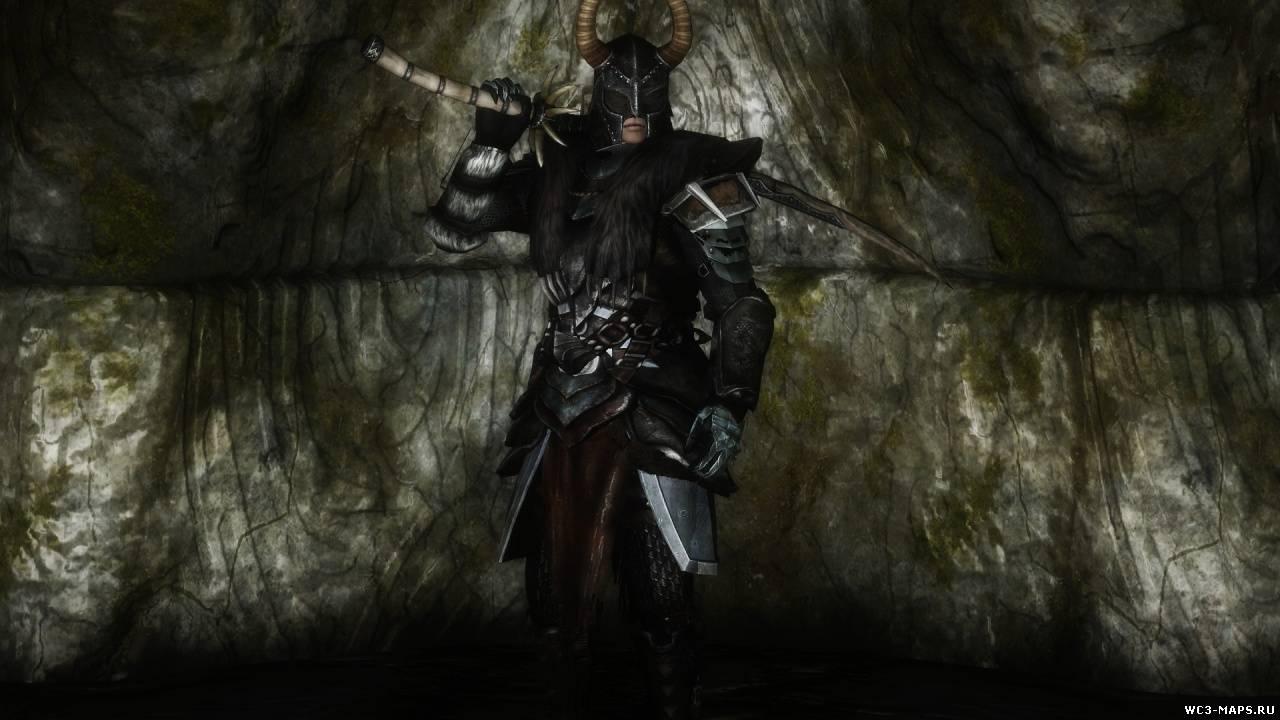 скачать мод на скайрим на броню королевского лорда вампира