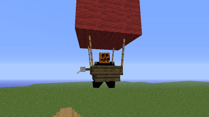 Скачать мод на воздушный шар