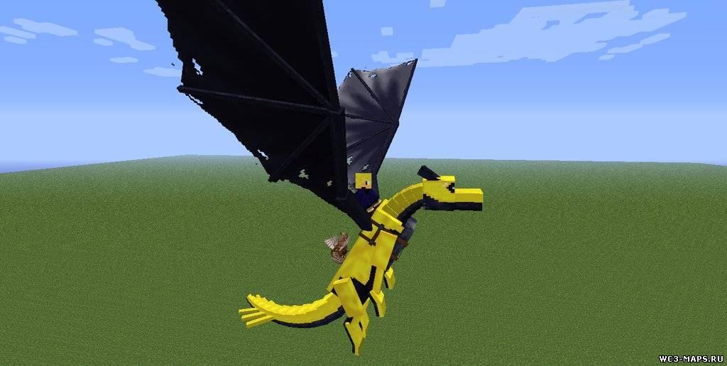 Скачать мод драконов на майнкрафт