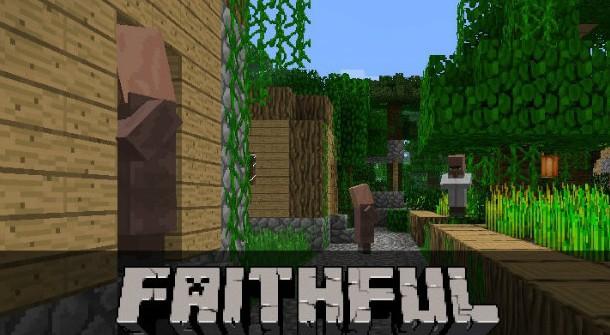 """Ресурс пак """"faithful"""" для Minecraft 1.6.2"""