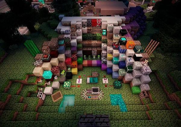 """Ресурс пак """"Kingstones-memorials"""" для Minecraft 1.6.2"""