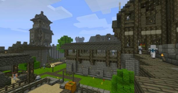 """Ресурс пак """"Lukys Rpg"""" для Minecraft 1.6.2"""