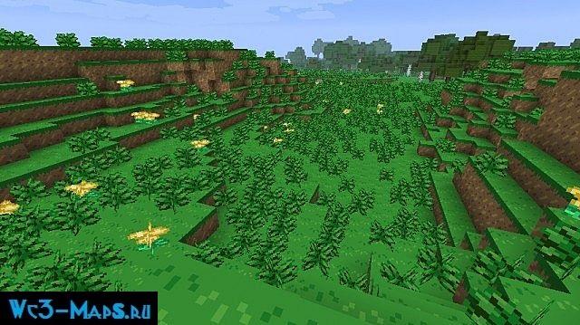 "Ресурс пак ""PokeBlock"" для Minecraft 1.6.2"