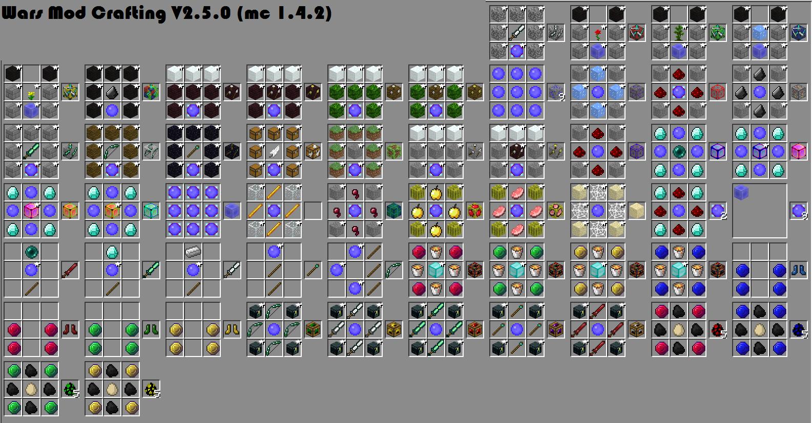 Мод the wars для minecraft 1 6 2
