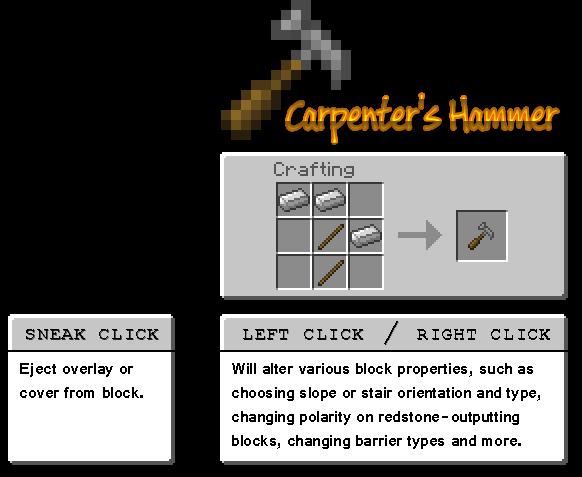 Как сделать забор плотника в майнкрафт