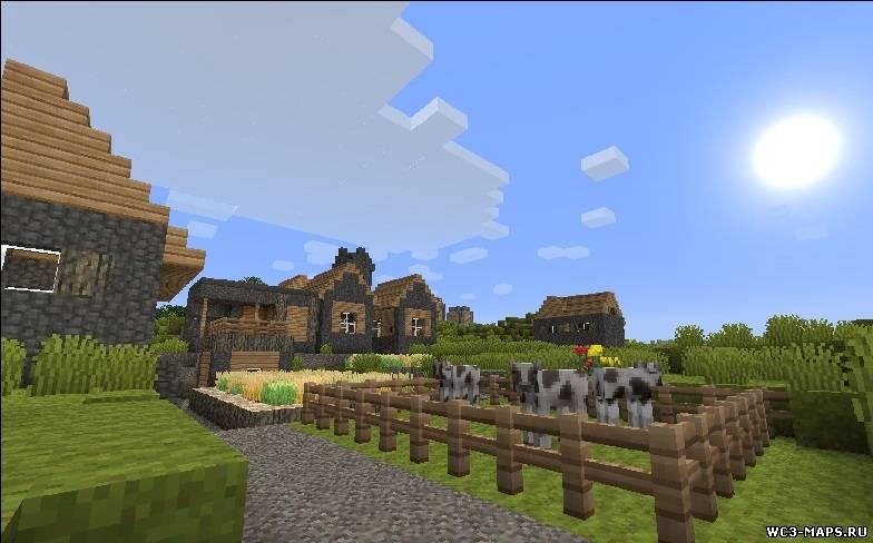 ... пак Pixel Reality для Minecraft 1.7.2/1.6.4 скачать: wc3-maps.ru/load/vse_dlja_minecraft/resurs_paki_dlja_minecraft...