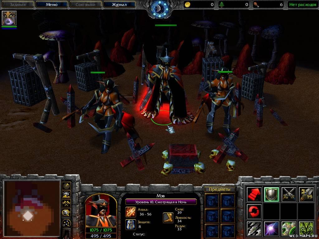 Скачать Компании для Warcraft 3