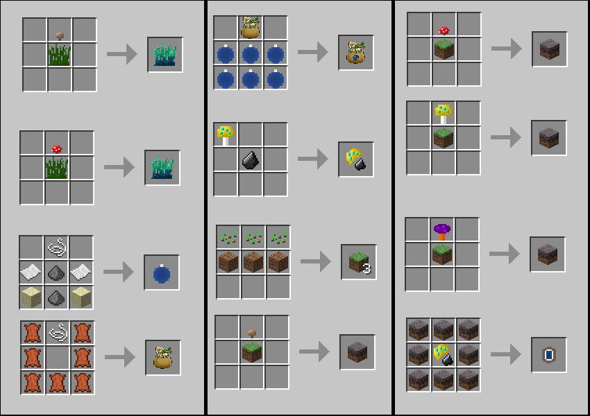 как делать в майнкрафте ресурсы в 1.7.9 фотки #3
