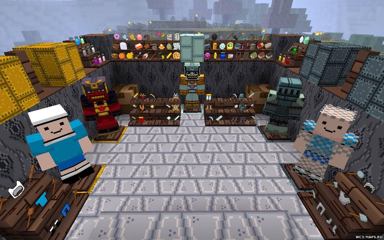 ... Ресурс пак Adventure Time для Minecraft 1.7.4/1.7.2/1.6.4: wc3-maps.ru/load/vse_dlja_minecraft/resurs_paki_dlja_minecraft_1_7...