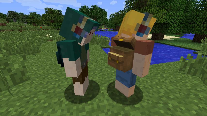 Мод на Сундуки для Minecraft 1.7.10