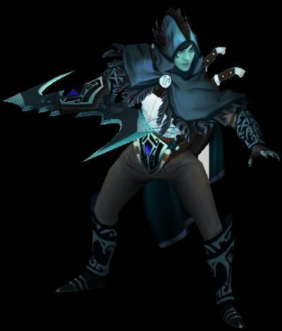 Phantom Assassin Penumbral Vesture Set скачать