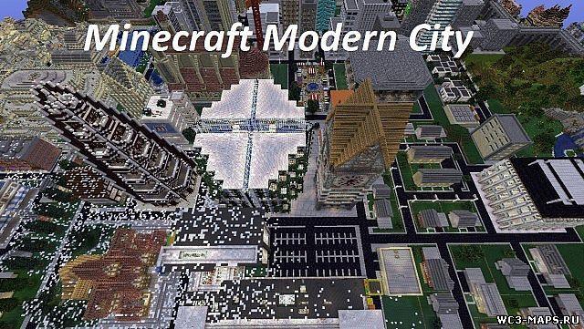 карты для майнкрафт 1.7.5 город #4