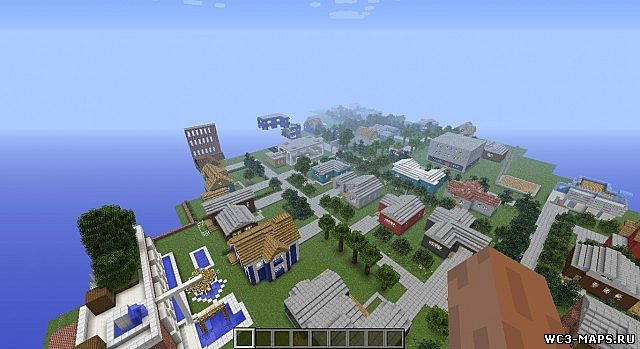 Замок в minecraft скачать карту для 1. 5. 2, 1. 6. 4, 1. 7. 2, 1. 8 версии.