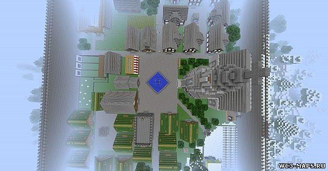 карты для майнкрафт 1.7.5 город #6