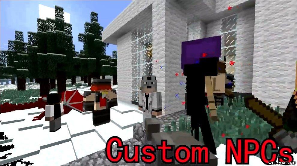 Custom npc 1.8