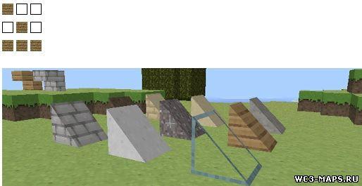 Как сделать треугольную крышу в майнкрафте