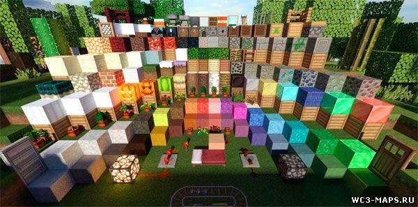 стандартные текстуры для minecraft: