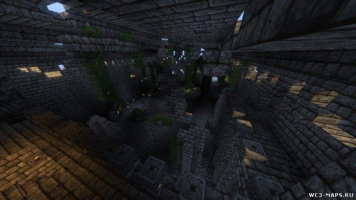 Скачать карту Майнкрафт 1.7 10 заброшенный город