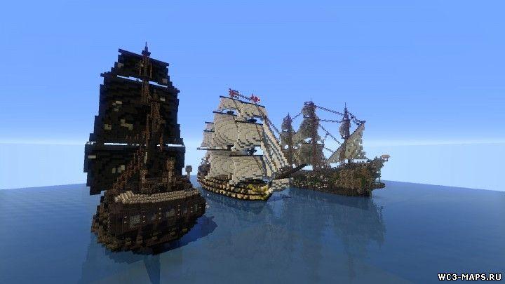 майнкрафт пираты карибского моря скачать игру - фото 4