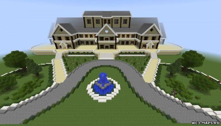 Скачать карту красивый дом для майнкрафт 1 7 10
