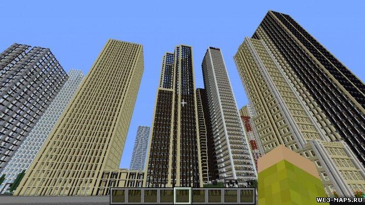 майнкрафт 1.8.3 карты городов #2