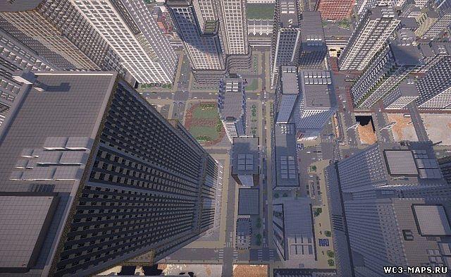 Карта красивый город для майнкрафт 1. 12. 2, 1. 11. 2, 1. 8. 9, 1. 7. 10.