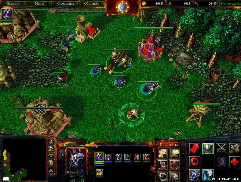 Скачать Melee Карты для Warcraft 3