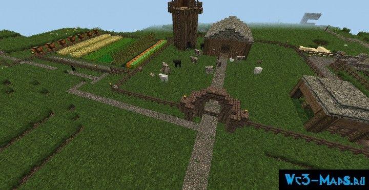 скачать карту для майнкрафт ферма - фото 11