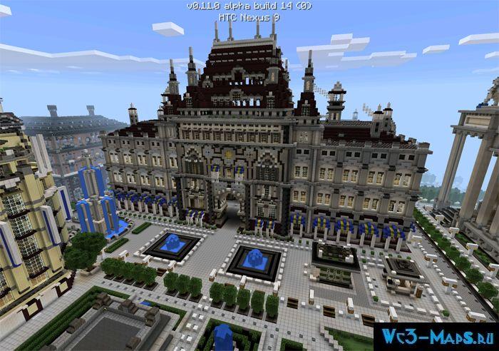 скачать карту имперский город для майнкрафт pe #1