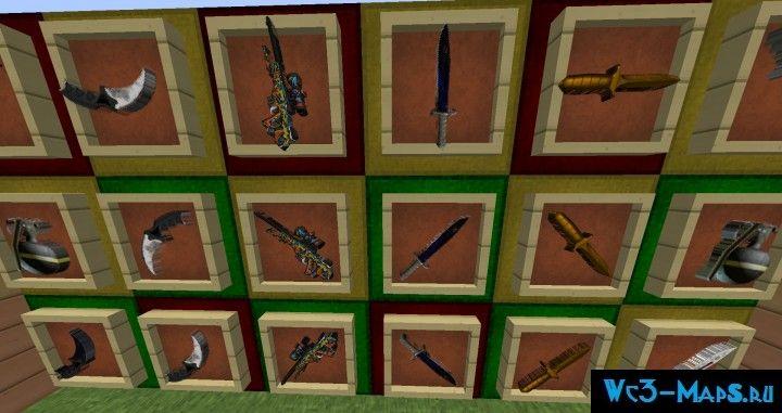 скачать моды для майнкрафт 1 8 на оружие из кс го - фото 11