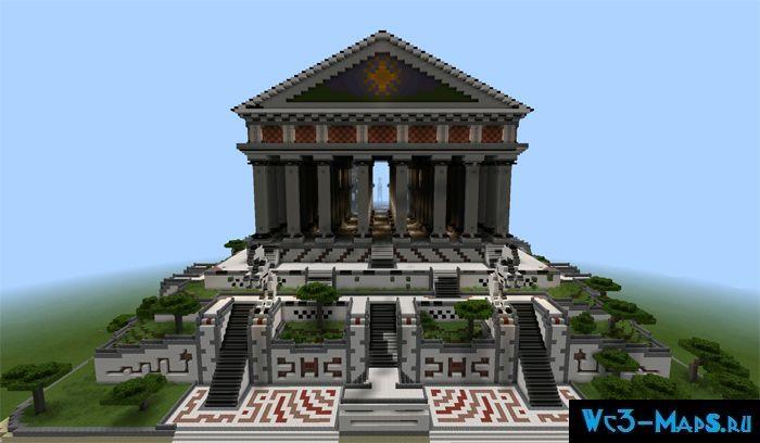 майнкрафт скачать карту храм
