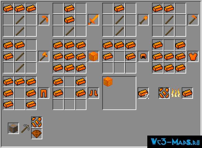 Скачать мод на руды m-ore mod для minecraft 1. 10. 2, 1. 9. 4, 1. 9.